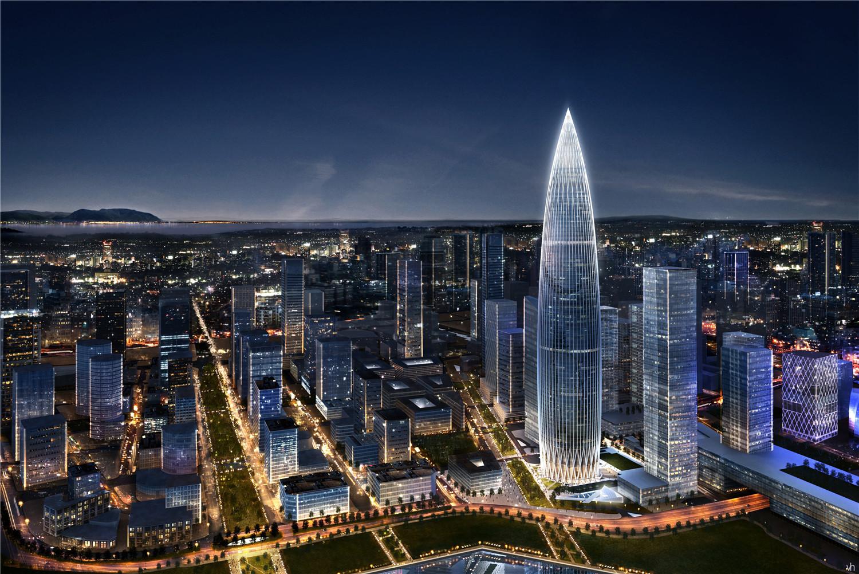 工程概况:     华润深圳湾综合发展项目位于深圳福田中心区以西12公里