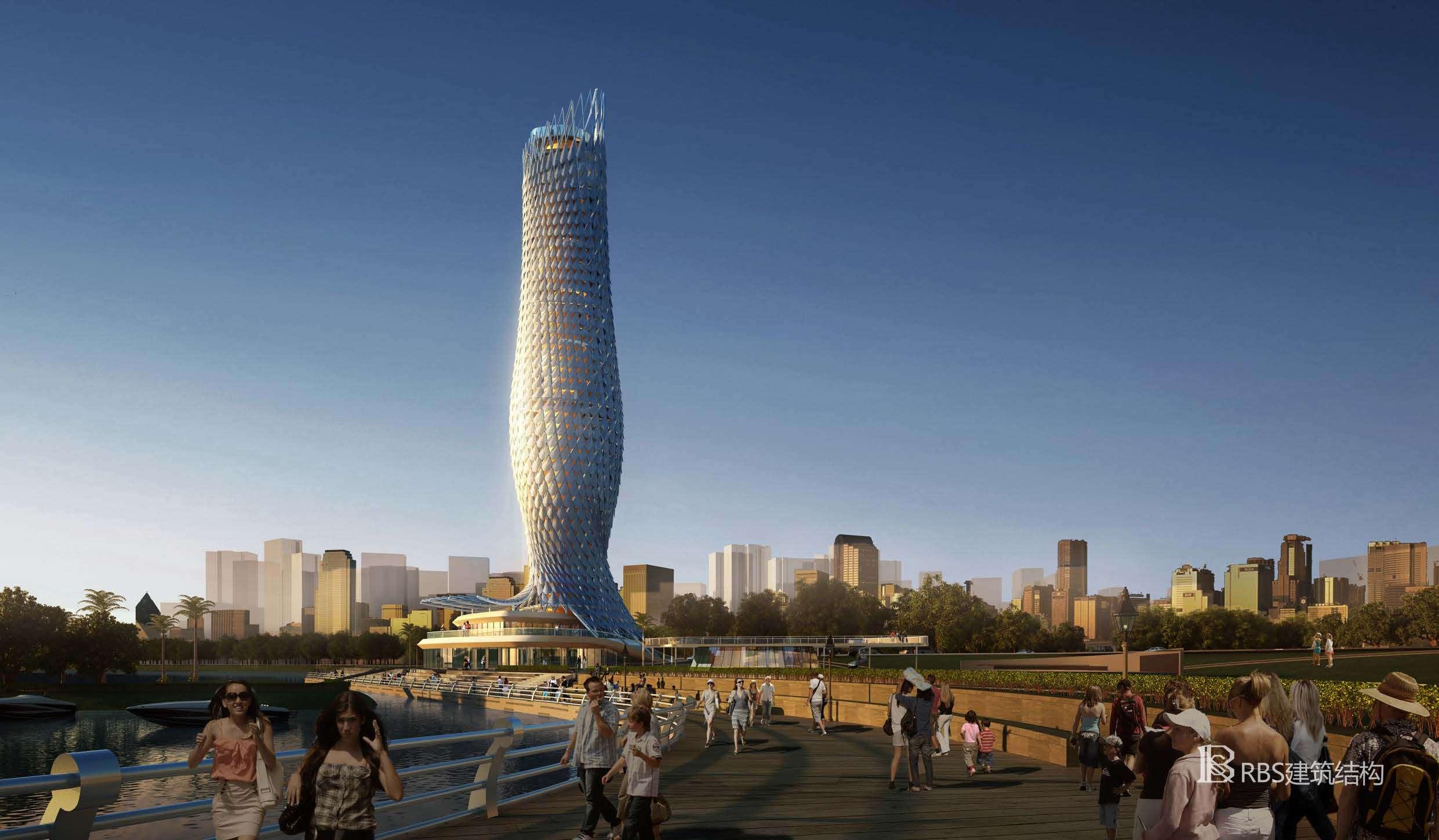 珠海斗门旅游发展中心景观塔项目