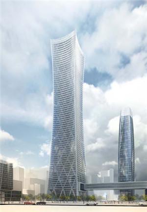 合作设计: 中信建筑设计研究总院有限公司 18,青岛华润中心大厦(320m)